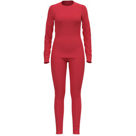 Odlo Active Warm Eco Set, hibiscus